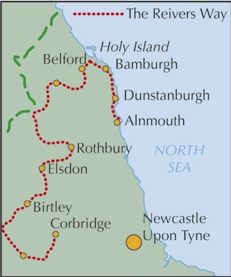 Reivers Way - through historic Northumberland - Cicerone